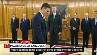 Avance Informativo.- Pedro Sánchez toma posesión del cargo ante el Rey