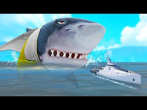 ОГРОМНЫЙ МЕГАЛОДОН АТАКУЕТ! ОБНОВЛЕНИЕ! | Hungry Shark Evolution