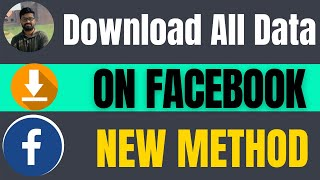 How to download my Facebook data 2021 | All Information