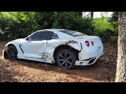 I Bought a REALLY TOTALED Nissan GT-R from a Salvage Auction