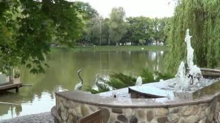 VLOG Киев.  ВДНХ.  Релакс прогулка вокруг озера  Kiev. Park Exhibition Center