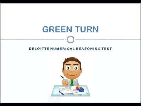 Deloitte Numerical Reasoning Test 2019 Guidance 2020 Kenexa SHL