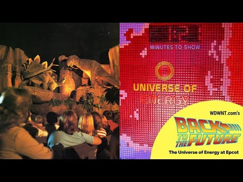 The History of Epcot's Universe of Energy - WDWNT Back to the Future LIVE!