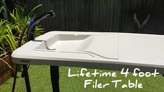 Lifetime 4 foot Fillet Table from Bunnings and BCF