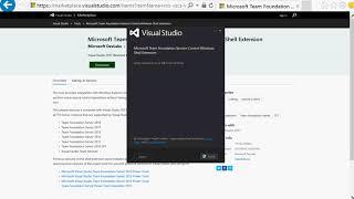 microsoft Team Foundation Version Control Windows Shell Extension