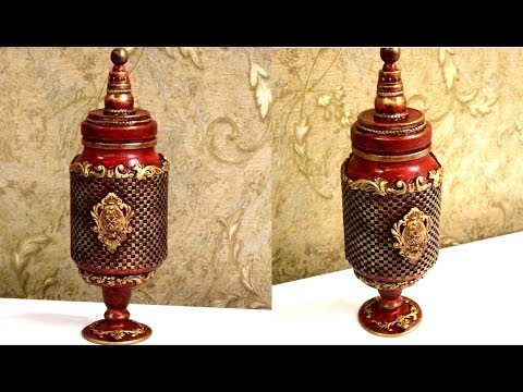 Awesome Idea with  glass jar| How to recycle glass jar| Best reuse idea
