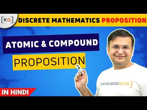 Atomic and compound Proposition logic | Propositional logic | gate | net - part 2
