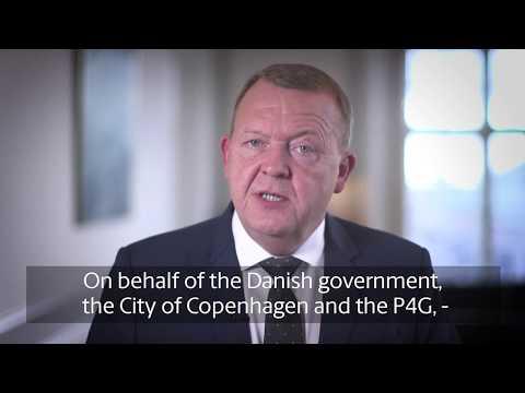 Danish PM: Welcome to the P4G Copenhagen Summit 2018