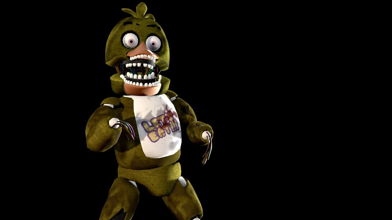 Gmod coloring pages -  Sfm Five Night S At Freddy S Withered Bonnie And Withered Chica Youtube