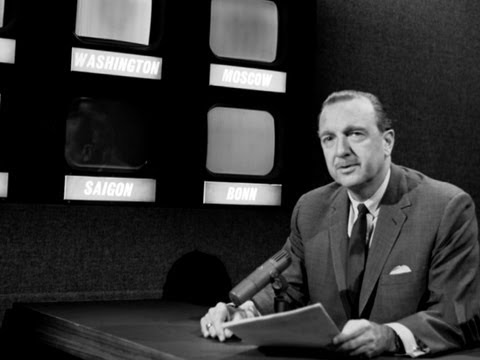 CBS Evening News with Scott Pelley - Cronkite's anchoring debut celebrates 50th anniversary