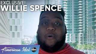 Willie Spence Shares Why He Could Not Shake His Nerves! - American Idol 2021