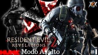 RESIDENT EVIL REVELATIONS 2 - MODO ASALTO - HUNK!!