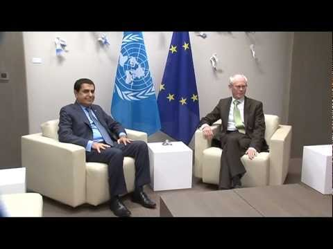 Meeting with President of the United Nations General Asssembly, Nassir Abdulaziz Al-Nasser