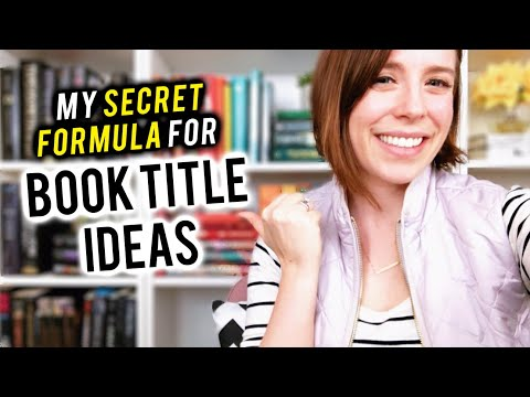 BOOK TITLE IDEAS | How To Title Your Book