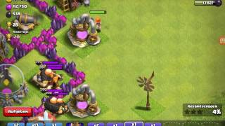 Eine runde clash of clans mit | clash of clans Freak || Let's play Coc|