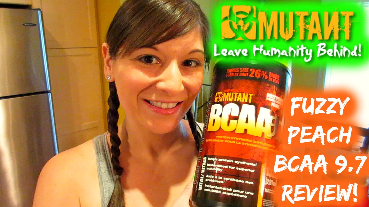 mutant bcaa fuzzy peach test & review! nicole collet - youtube