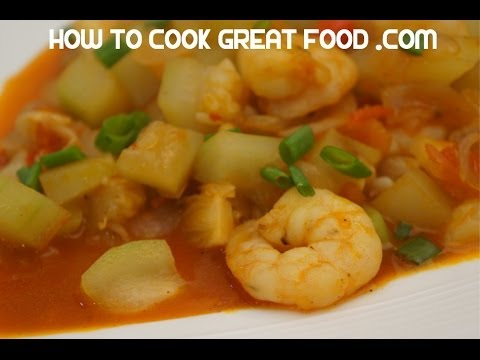 Paano magluto Ginisang Upo at Hipon Pinoy Recipes Shrimp Prawn Filipino Cooking