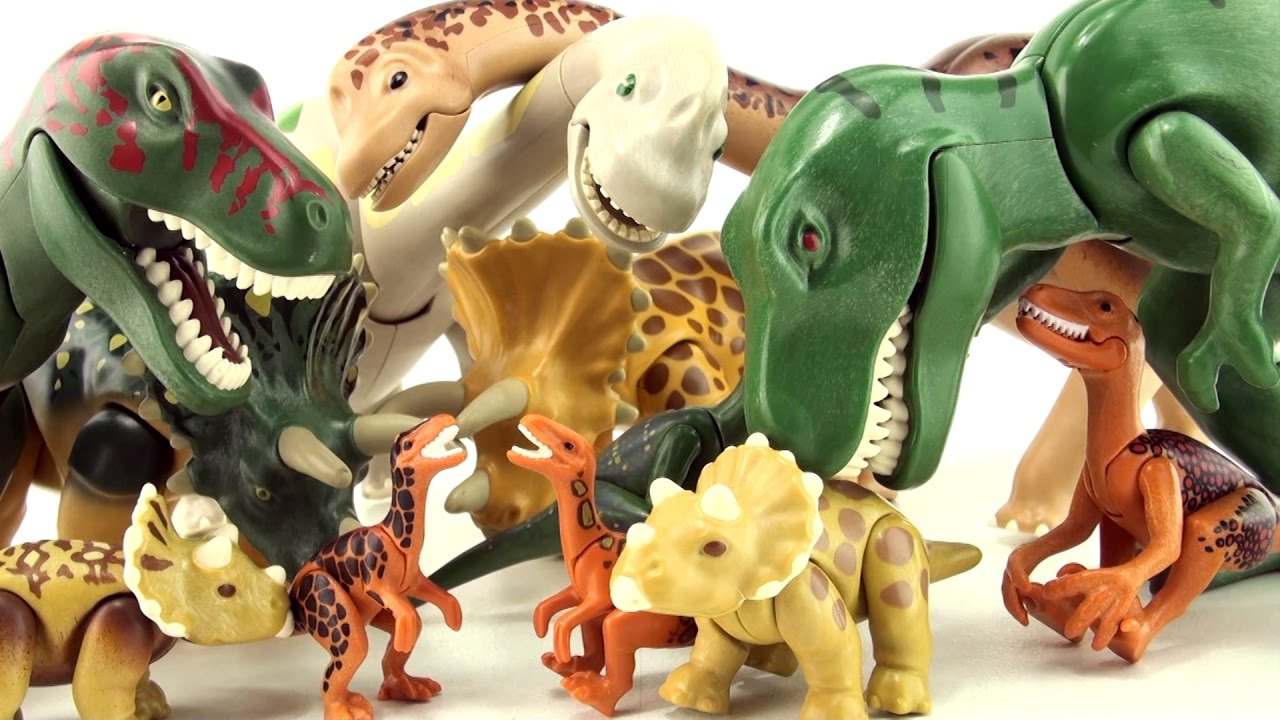 Playmobil dinosaur comparison old v new dinosaurs - Dinosaur playmobile ...