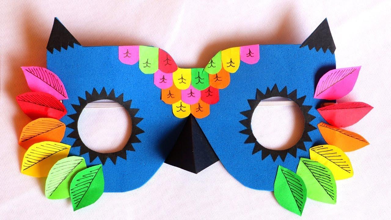 DIY Mask | How to make Owl Mask for kids | Pinterest inspired DIY ...