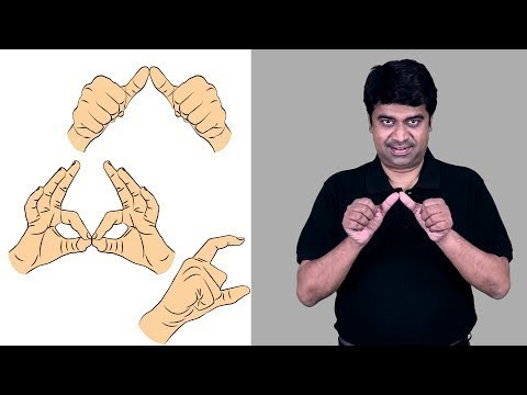 Alphabet (Indian Sign Language)