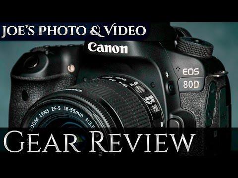 Canon EOS 80D - Best Canon APS-C DSLR On The Market | Gear Review
