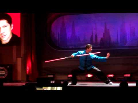 Ray Park is a freaking Ninja