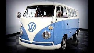 Classics: 1967 Volkswagen Type 2 Split Window Camper Van: Groovy Hippie Caravan