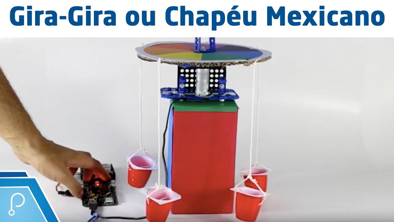 Montando Chapéu Mexicano com materiais recicláveis - YouTube abeb83be395