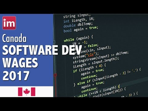 Software Developer Salary in Canada - Jobs in Canada 2017