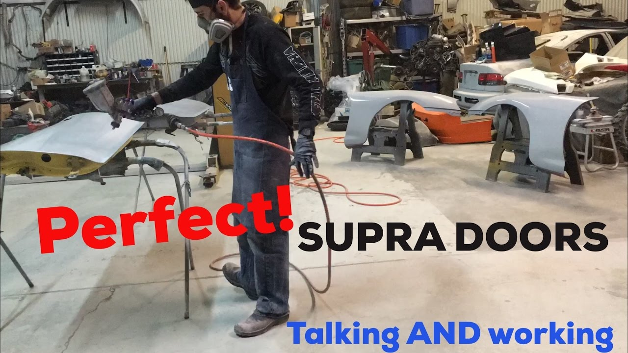 Perfecting the Supra Doors  Talking and working  - Long version! - YouTube & Perfecting the Supra Doors