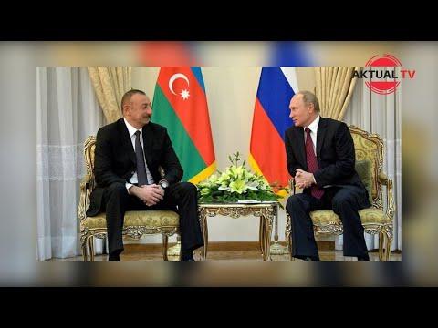 Алиев выразил Путину обеспокоенность транспортировкой военных грузов из России в Армению