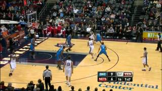 [01.21.12] MarShon Brooks vs. OKC (14 Pts, 1 Ast, 5 Reb, 2 Stl, 1 Blk)
