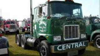 Trucking: Cabovers, back when trucking was trucking.