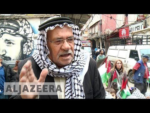 Palestinian refugees angry at Trump's Jerusalem stance