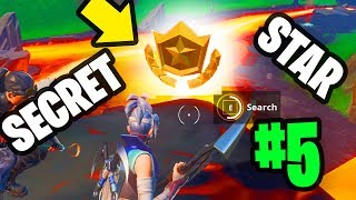 SEASON 8 WEEK 5 SECRET BATTLE STAR LOCATION : Fortnite Find Battlestar in Loading Screen *FREE TIER*