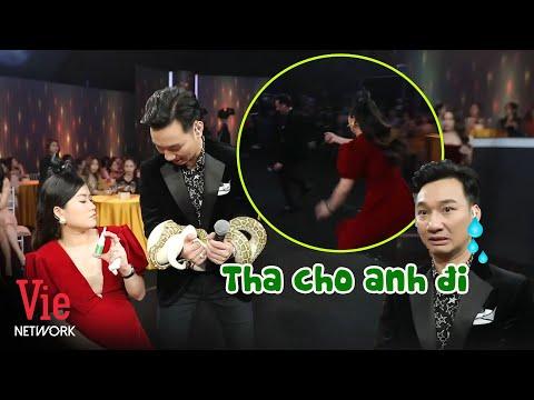 Lấy trăn dọa Lâm Vỹ Dạ, Thành Trung nhận cái kết đắng bị Dạ lấy chuột rượt chạy quanh sân khấu