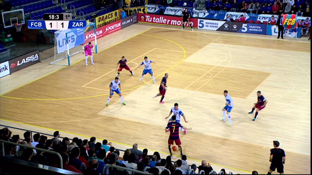 Barcelona best futsal goals are pretty special