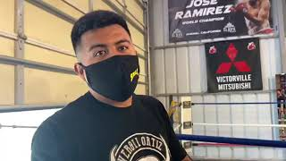 Neno announcing his next fight ! - Esnews boxing
