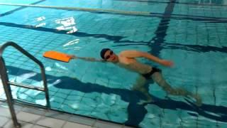 阿信老師游泳教室8(手持浮板換氣練習)