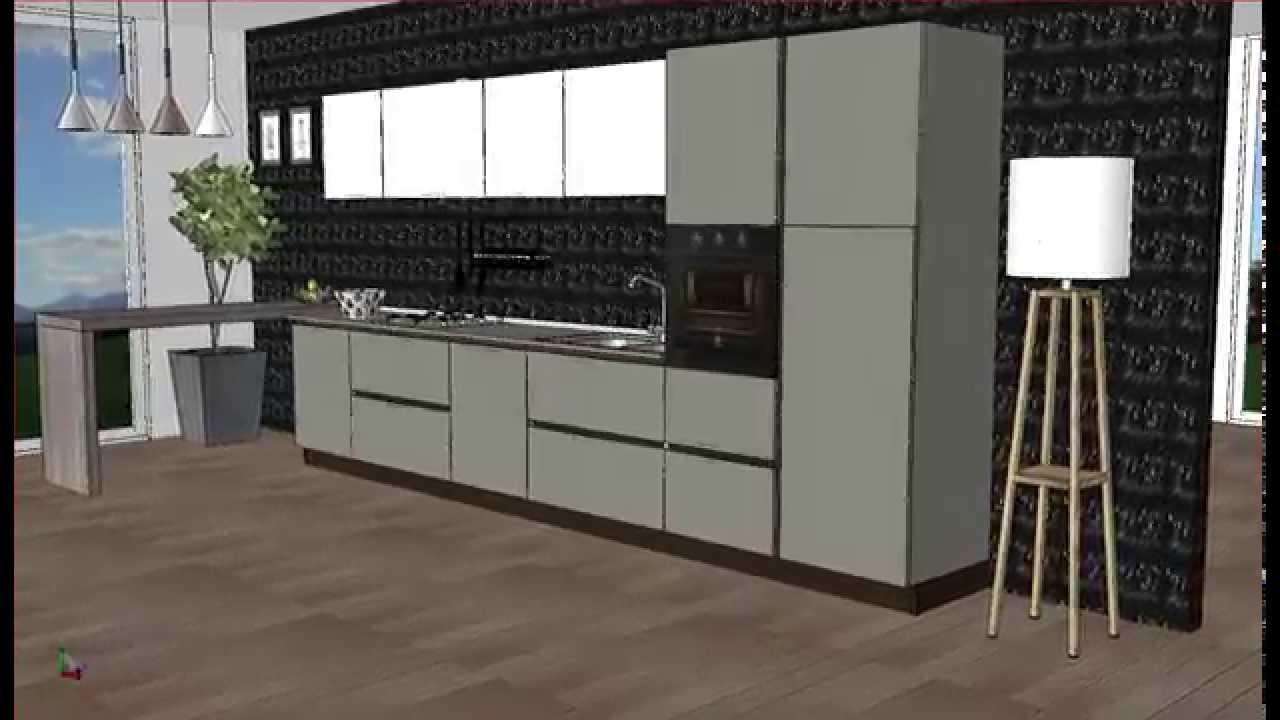 proposta 78 cucina arredo 3 - YouTube