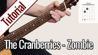 The Cranberries - Zombie | Gitarren Tutorial Deutsch