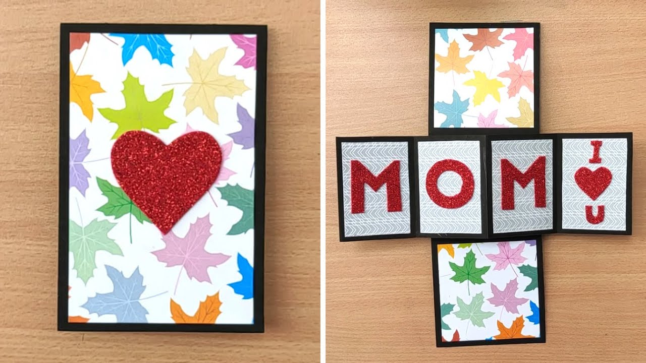 Diy Mother S Day Special Card Beautiful Handmade Greeting Cards Idea Birthday Card For Mom Youtube