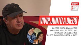 ENTREVISTA IMPERDIBLE: Gabriel #Buono, quien acompañó a Diego siendo su asesor por 14 años, contó en #ESPNF360 los detalles de su vida junto a él, ...