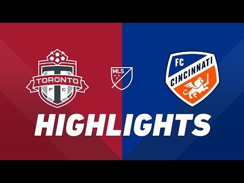 Toronto FC vs. FC Cincinnati | HIGHLIGHTS – July 27, 2019