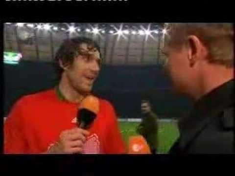 Luca Toni vs Franck Ribery - Interview