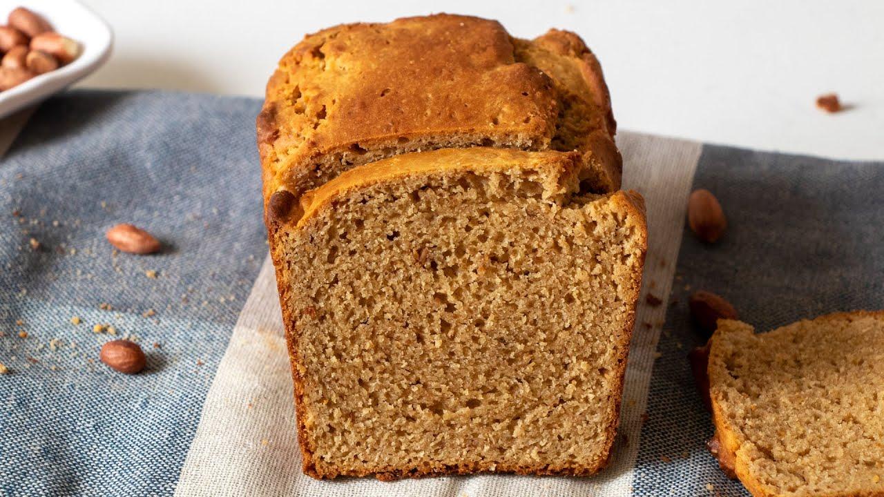 Peanut Butter Bread | Only 5 Ingredients! 1932 Depression Era Recipe | No Eggs | No Yeast
