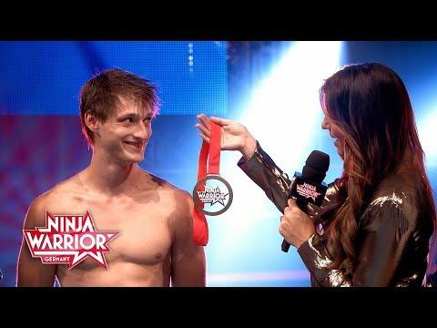 """Ninja Warrior Germany: """"Last Man Standing"""" 2017 - Moritz Hans ist der neue Ninja-Held"""