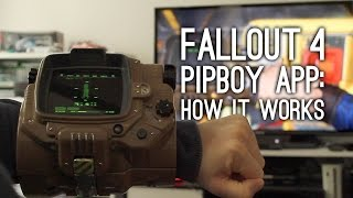 Fallout 4 Pip-Boy App How It Actually Works - Fallout 4 Companion App Gameplay