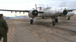 The ONLY Flying A-26A Counter Invader in the world!! (currently being restored)