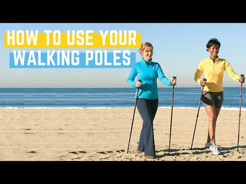How to Walk Using Your Walking Poles